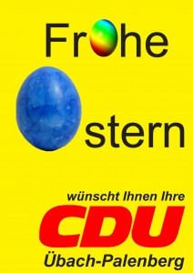 •-CDU-Ostergrüße