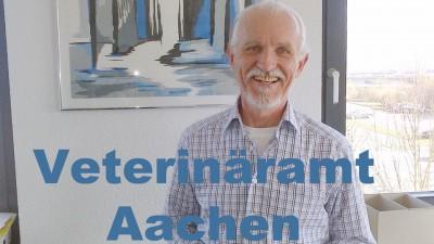 Franz-Josef Gülpen vom Veterinäramt Aachen