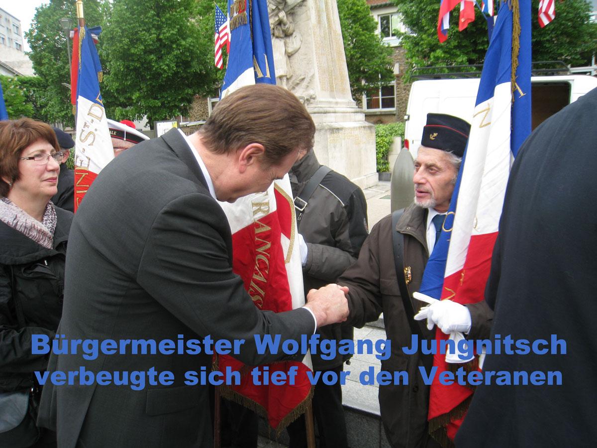 Vertaranenehrung zum 8.Mat 2015 nach den Kriegsbeginn an der Westfront am 10. Mai 1940
