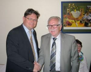 Günter weinen und Oliver Walther