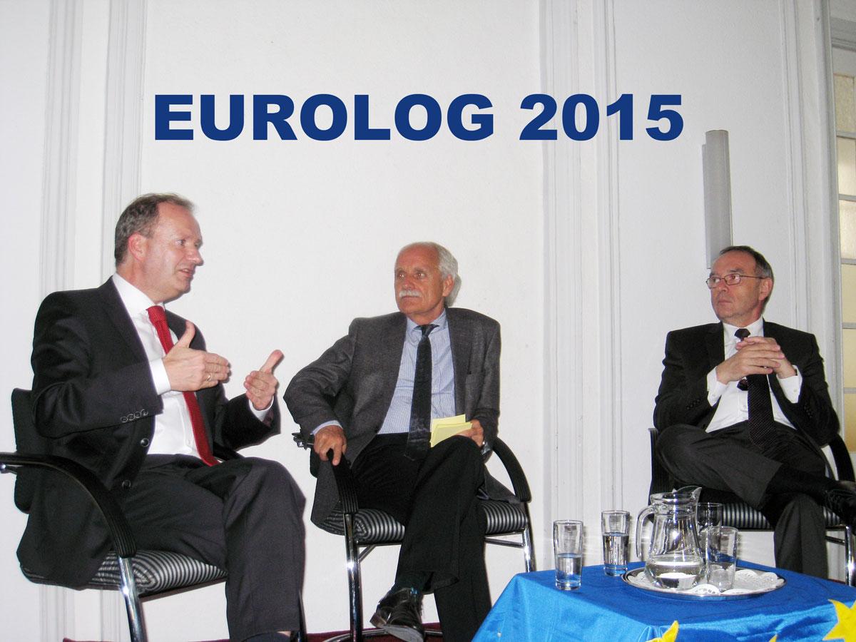 """Eurolog 2015 """"Ist der Euro noch zu retten?"""""""