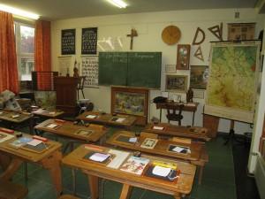 historisches Klassenzimmer - eine Chance zur Rückbesinnung