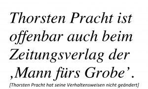 Thomas Pracht beim Aachener Zeitungsverlag