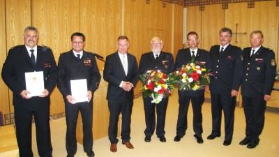 Hans-Hubert Plum und Gottfried Mannheims