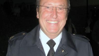 Heiner Buschmann und Slowakische Feuerwehr-Kameraden