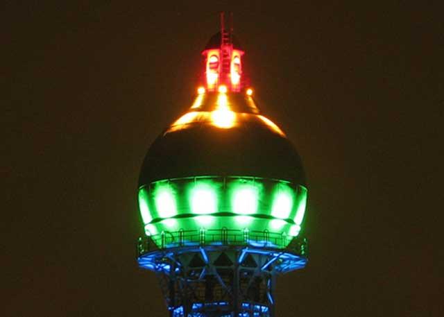 Wasserturmbeleuchtung gestohlen - genial-nah.de