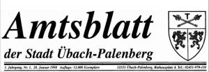 Hartmut Urban brachte 1998 das erste Amtsblatt heraus.