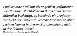 Paul Schmitz-Kröll als Denunziant