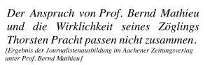 Prof. Bernd Mathieu und Thorsten Pracht